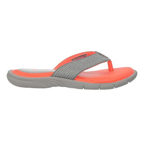 Womens Ryka Roanoke Sandals Shoe - Frost Grey/Coral 6