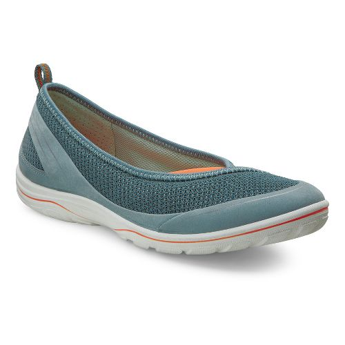 Womens Ecco Arizona Ballerina Casual Shoe - Trooper 42