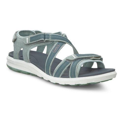 Womens Ecco Cruise Sandals Shoe - Ice Flower/Trooper 35