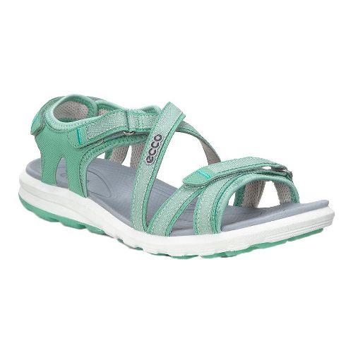 Womens Ecco Cruise Sandals Shoe - Granite Green 37