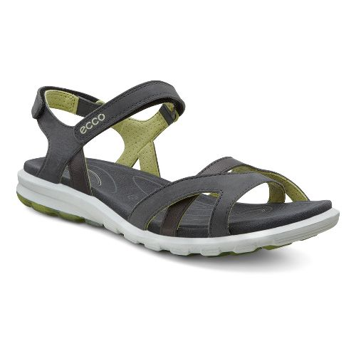 Womens Ecco Cruise Strap Sandals Shoe - Dark Shadow/Mint 35
