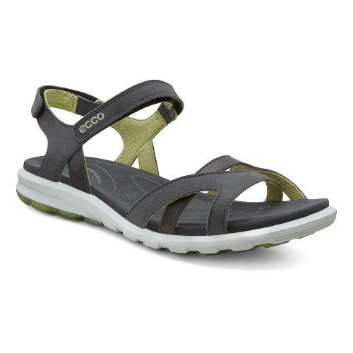 Womens Ecco Cruise Strap Sandals Shoe - Dark Shadow/Mint 36