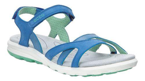 Womens Ecco Cruise Strap Sandals Shoe - Cobalt 42