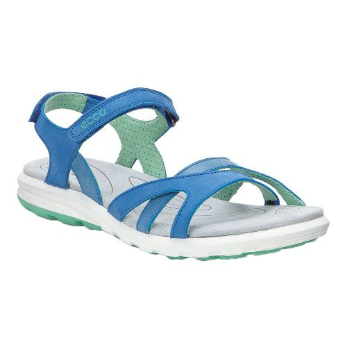 Womens Ecco Cruise Strap Sandals Shoe - Cobalt 36