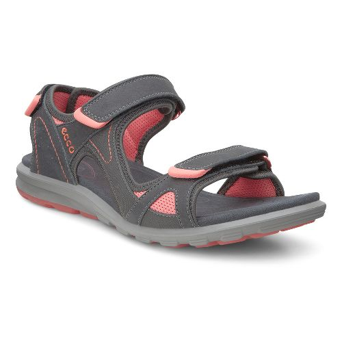 Womens Ecco Cruise Sport Sandals Shoe - Moonless 38