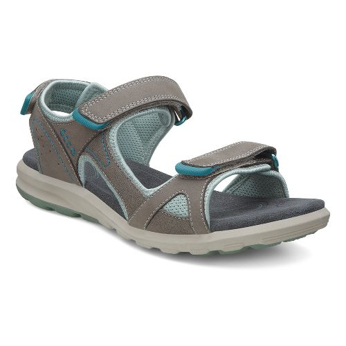 Womens Ecco Cruise Sport Sandals Shoe - Warm Grey 35