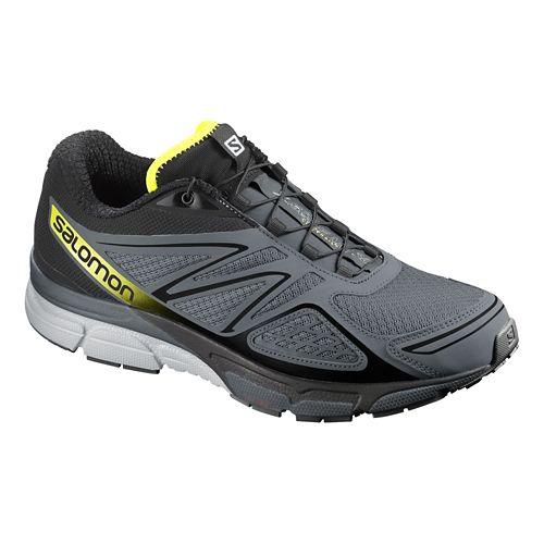 Mens Salomon X-Scream 3D Trail Running Shoe - Grey/Black 14