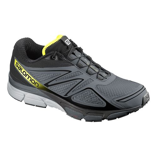 Mens Salomon X-Scream 3D Trail Running Shoe - Grey/Black 7