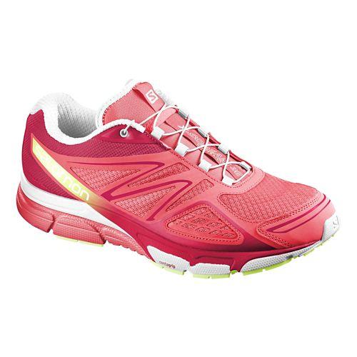 Womens Salomon X-Scream 3D Trail Running Shoe - Papaya/Pink 7