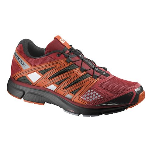 Mens Salomon X-Mission 2 Trail Running Shoe - Red/Orange 13
