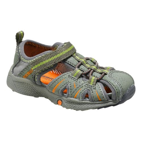 Kids Merrell Hydro Hiker Sandal JR Sandals Shoe - Olive/Orange 5
