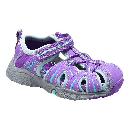 Merrell Hydro Hiker Sandals Shoe - Purple/Blue 5C