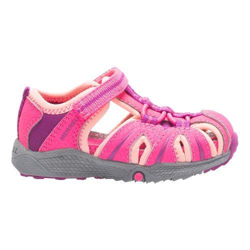 Kids Merrell Hydro Hiker Sandal Shoe - Pink 5C