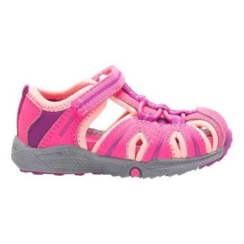 Kids Merrell Hydro Hiker Sandal Shoe - Pink 7C