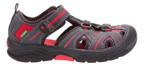 Merrell Hydro Hiker Sandals Shoe - Grey/Red 10C