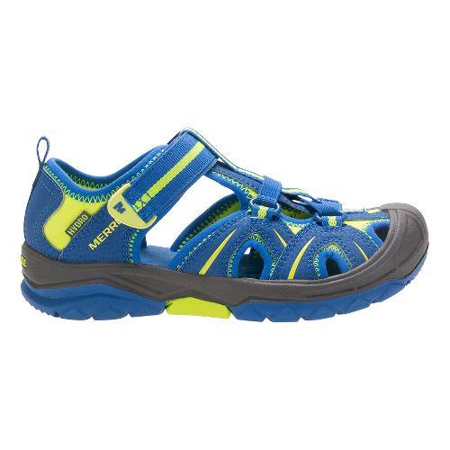 Merrell Hydro Hiker Sandals Shoe - Blue/Citron 2Y