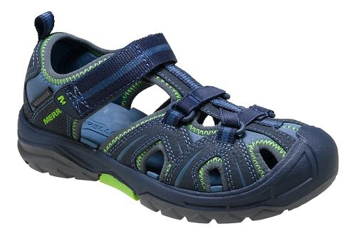 Merrell Hydro Hiker Sandals Shoe - Navy/Green 10C
