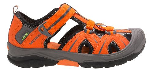 Merrell Hydro Hiker Sandals Shoe - Orange/Grey 9C