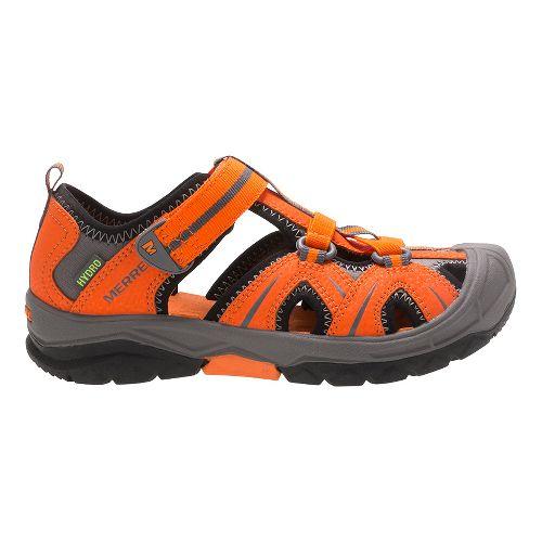 Merrell Hydro Hiker Sandals Shoe - Grey/Red 7Y