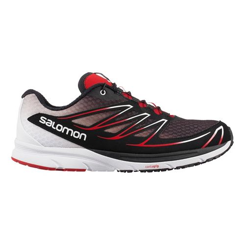 Mens Salomon Sense Mantra 3 Trail Running Shoe - Blue/Black 12.5
