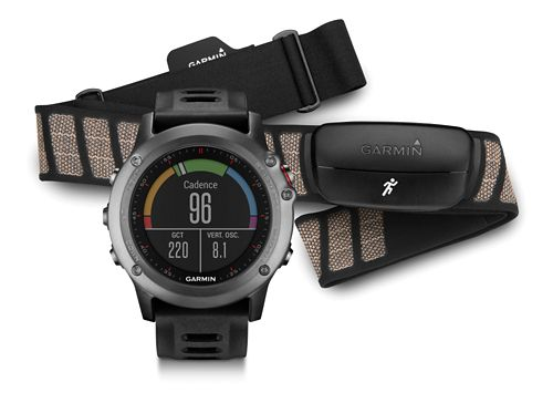 Garmin fenix 3 HRM-Run Bundle Monitors - Grey/Black