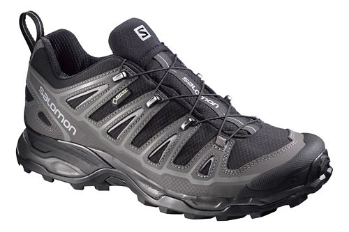 Mens Salomon X-Ultra 2 GTX Hiking Shoe - Black/Grey 8