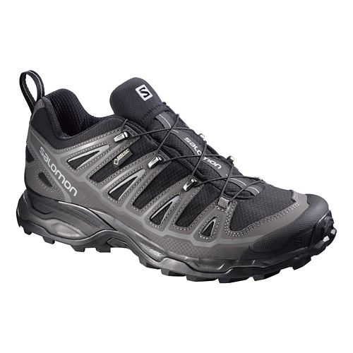Mens Salomon X-Ultra 2 GTX Hiking Shoe - Black/Grey 7.5