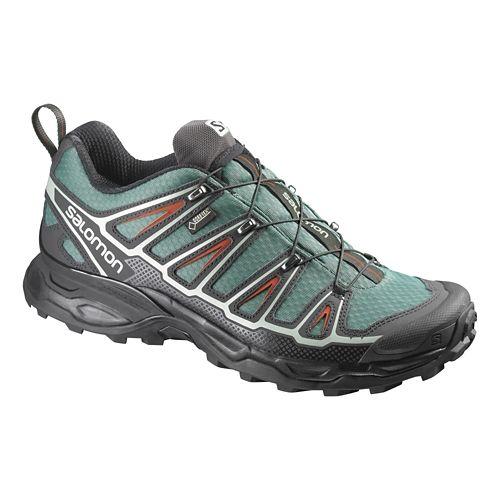 Mens Salomon X-Ultra 2 GTX Hiking Shoe - Green/Black 12