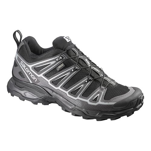 Mens Salomon X-Ultra 2 GTX Hiking Shoe - Black 7.5