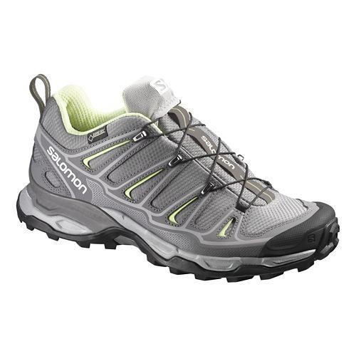 Womens Salomon X-Ultra 2 GTX Hiking Shoe - Grey 8.5