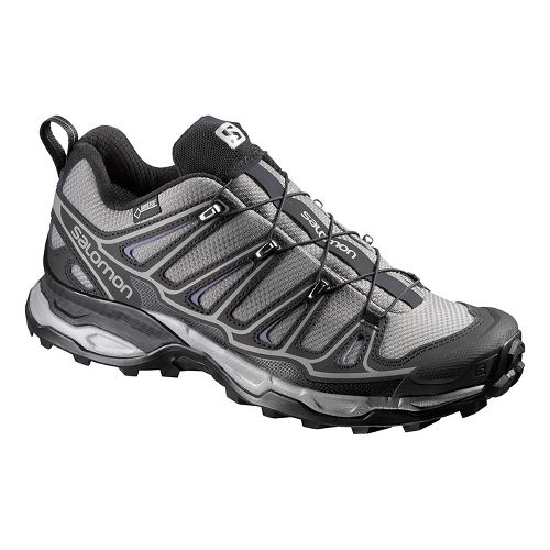 Womens Salomon X-Ultra 2 GTX Hiking Shoe - Grey/Black 7.5