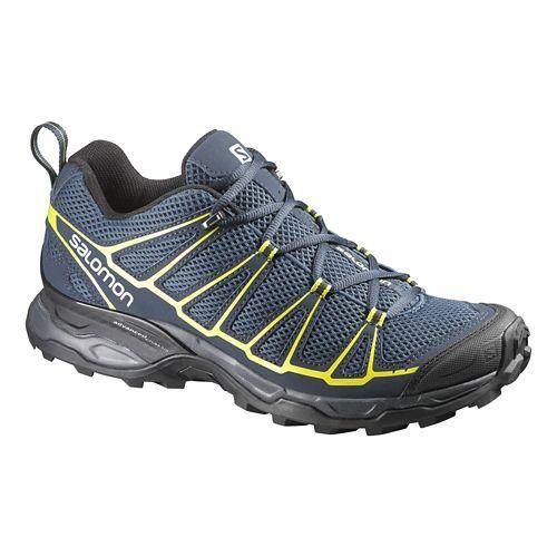 Mens Salomon X-Ultra Prime Hiking Shoe - Navy/Black 10