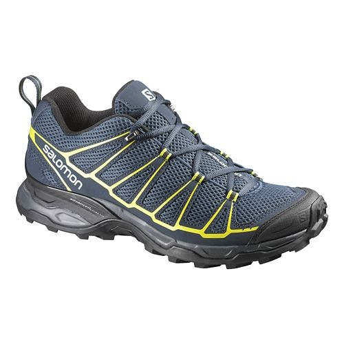 Mens Salomon X-Ultra Prime Hiking Shoe - Navy/Black 8