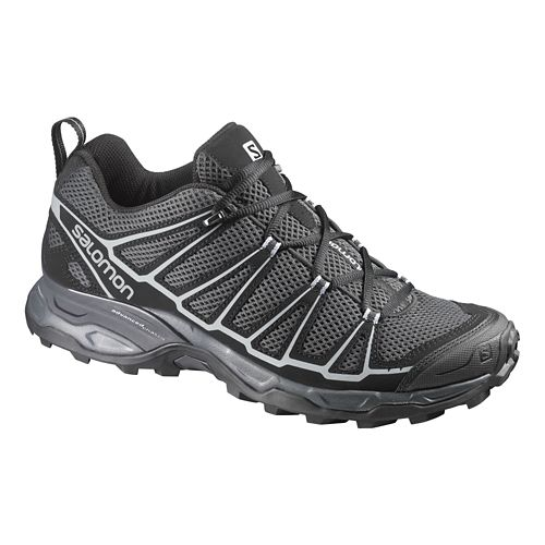 Mens Salomon X-Ultra Prime Hiking Shoe - Green/Black 8.5
