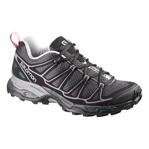 Womens Salomon X-Ultra Prime Hiking Shoe - Fuchsia/Orange 5.5