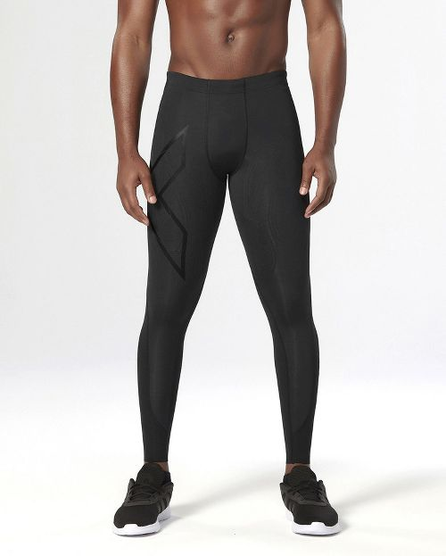 Mens 2XU  Elite MCS Compression Tights & Leggings - Black/Nero M