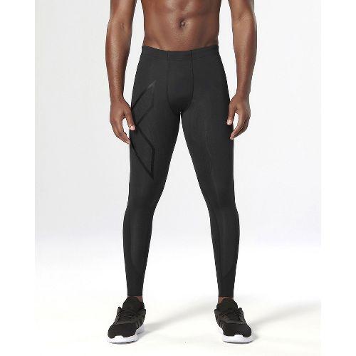 Mens 2XU  Elite MCS Compression Tights & Leggings - Black/Nero L