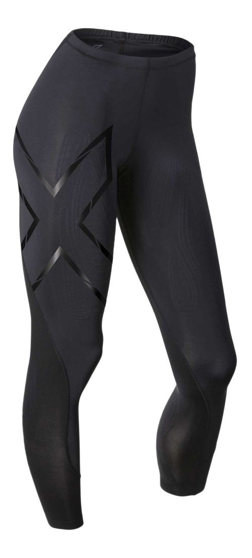 Womens 2XU Elite MCS Compression Tights & Leggings Tights - Black/Nero S-T