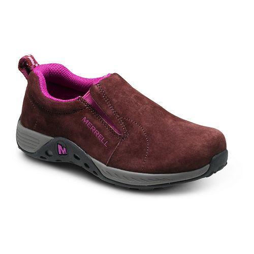 Kids Merrell Jungle Moc Sport Casual Shoe - Berry/Grey 13C