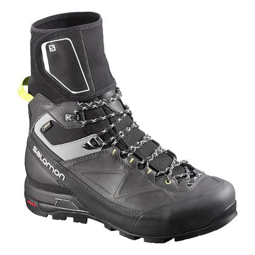 Mens Salomon X-Alp Pro GTX Hiking Shoe - Black/Asphalt 11