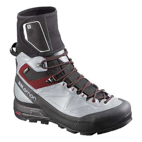 Mens Salomon X-Alp Pro GTX Hiking Shoe - Black/Light Onyx 12