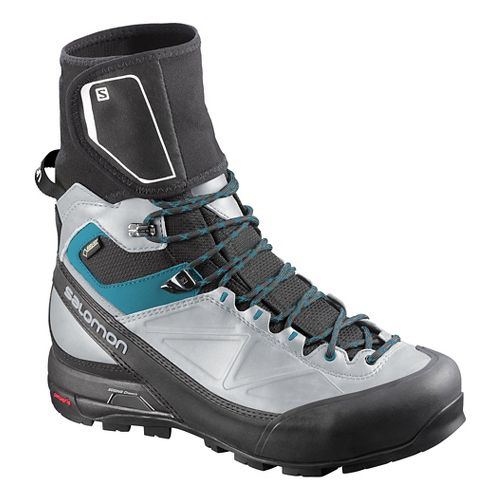 Womens Salomon X-Alp Pro GTX Hiking Shoe - Black/Light Onyx 7