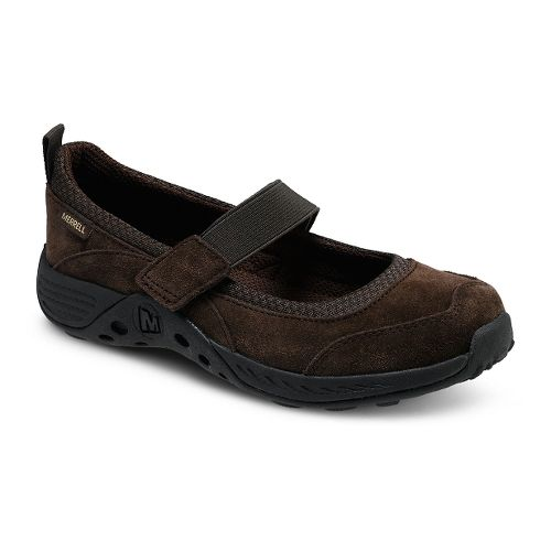 Kids Merrell Jungle Moc Sport Mary Jane Casual Shoe - Brown 2Y