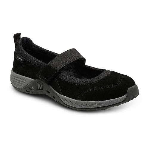 Kids Merrell Jungle Moc Sport Mary Jane Casual Shoe - Black 5Y