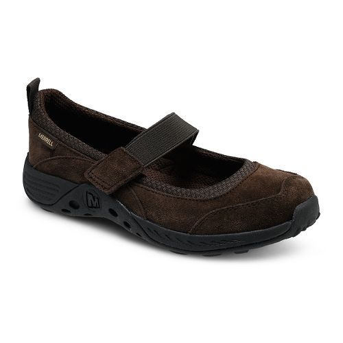 Kids Merrell Jungle Moc Sport Mary Jane Casual Shoe - Brown 6Y