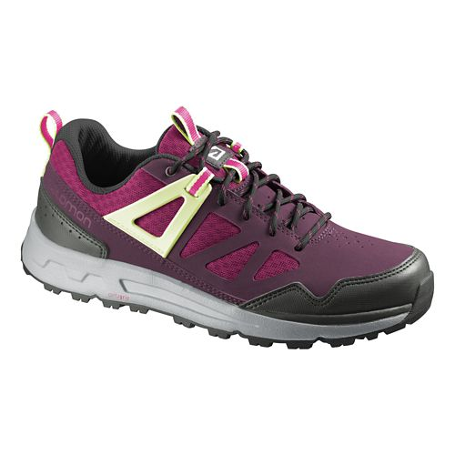 Womens Salomon Instinct Pro Casual Shoe - Carmine 5.5