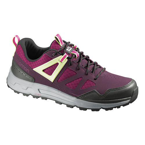 Womens Salomon Instinct Pro Casual Shoe - Carmine 8.5