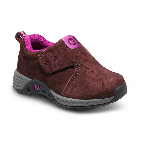 Kids Merrell Jungle Moc Sport A/C Casual Shoe - Berry/Grey 8C