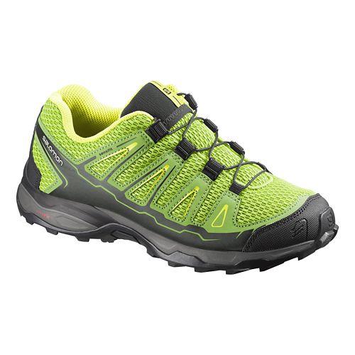 Kids Salomon X-Ultra J Trail Running Shoe - Green 5