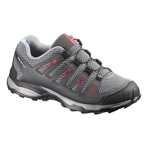 Kids Salomon X-Ultra K Trail Running Shoe - Grey/Red 12
